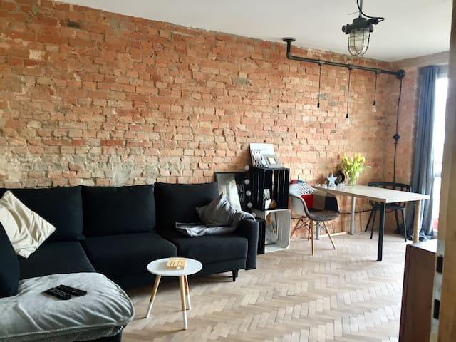Stylowa kawalerka - łódź, bałuty - Łódź - Leilighet