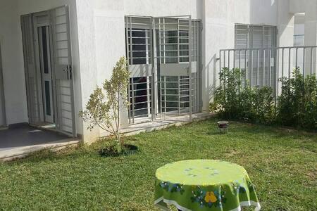 Joli s+1 ensoleillé avec jardin - Hammamet - Wohnung