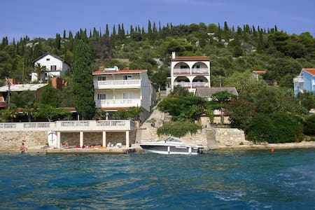Paradise rooms directly by the sea - Otok Ošljak