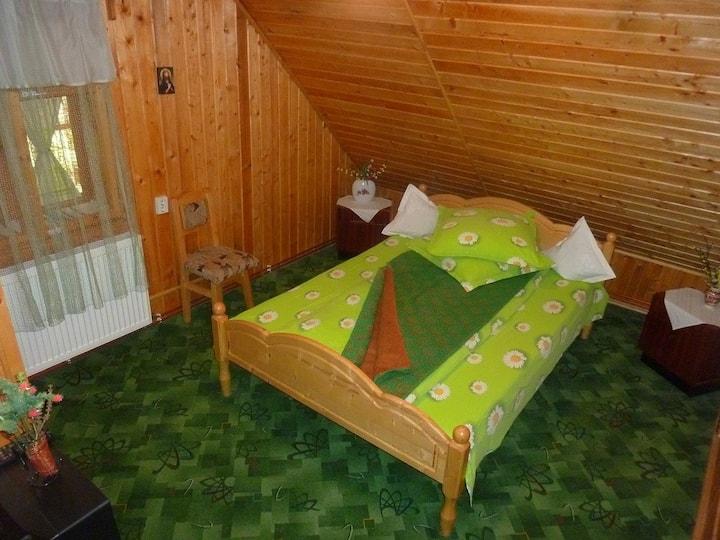 Greenish room