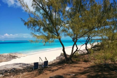 The Prime Cut, a very private cottage with a beach - Little Exuma Island - Talo