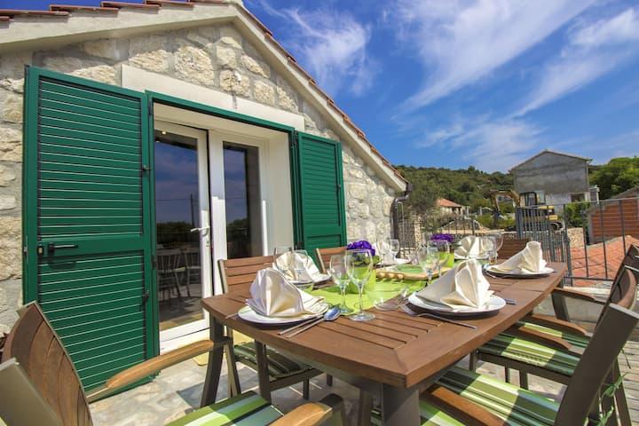 Two Bedroom Villa, in Vinisce, Outdoor pool
