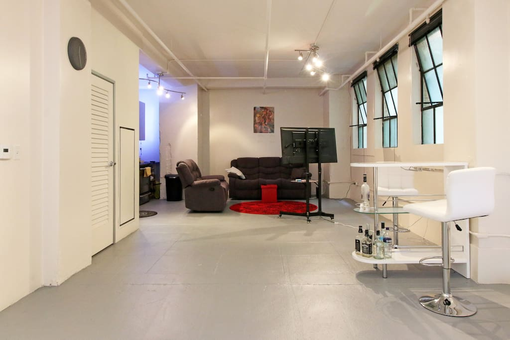 Cozy loft in gaslamp quarter lofts louer san diego - Loft industriel san diego californie ...