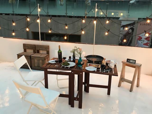 HIGHAND LOFT : Rooftop 1BR. Hongdae 5min