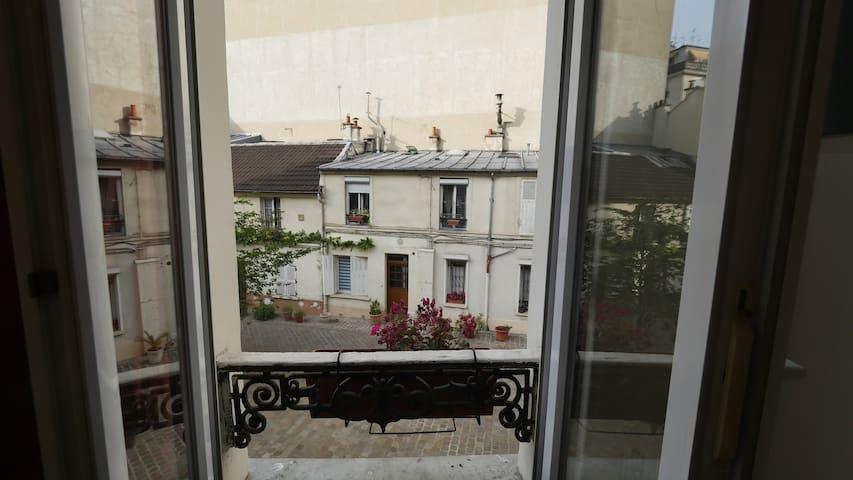 Studio confort, Paris 17ème. Logement entier.