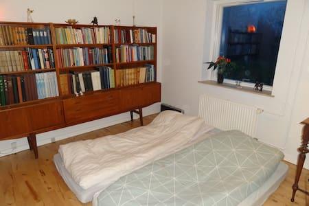 Enkelt værelse ved naturskønt område