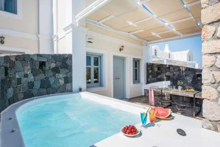 Calliste Villa At Secret Earth Santorini
