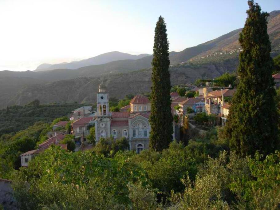 fabulous view over village