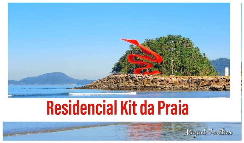 Kit da Praia  Condomínio Residencial (kitnet)