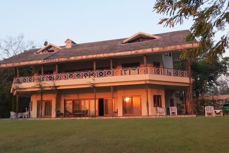 Kalesar Jungle house- 60 acre home .