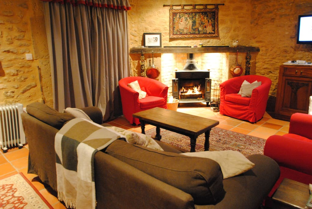 A cosy lounge to relax in.