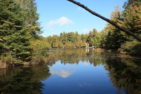 Small and Quiet Retreat on Tamarack Lake - Gooderham - Cabin