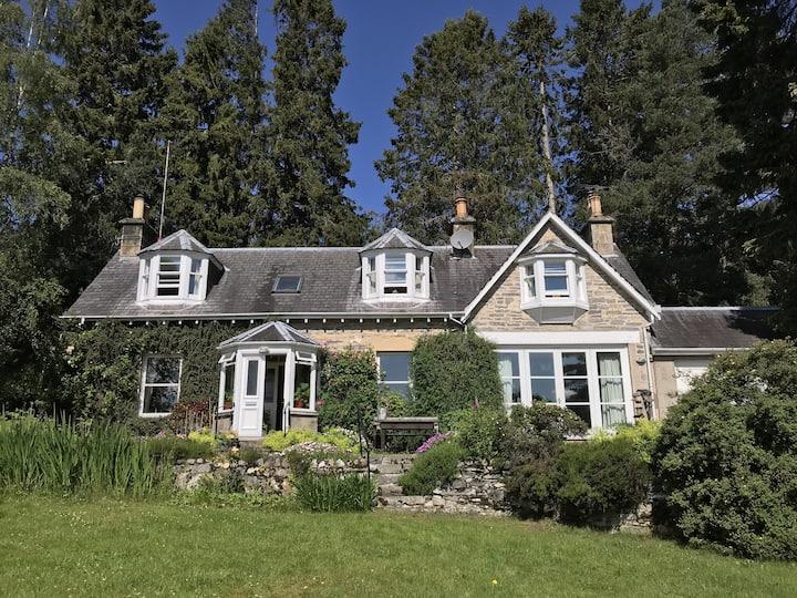 Old Station Master's House in Highlands
