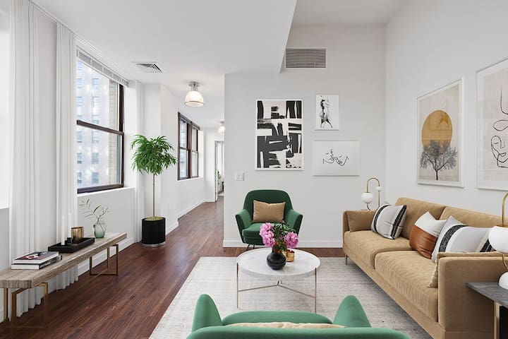 Entire apartment for you | 1BR in Jersey City