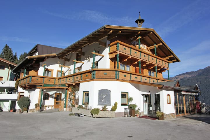 Ruime vakantiewoning in Tirol met een sauna en stoomdouche