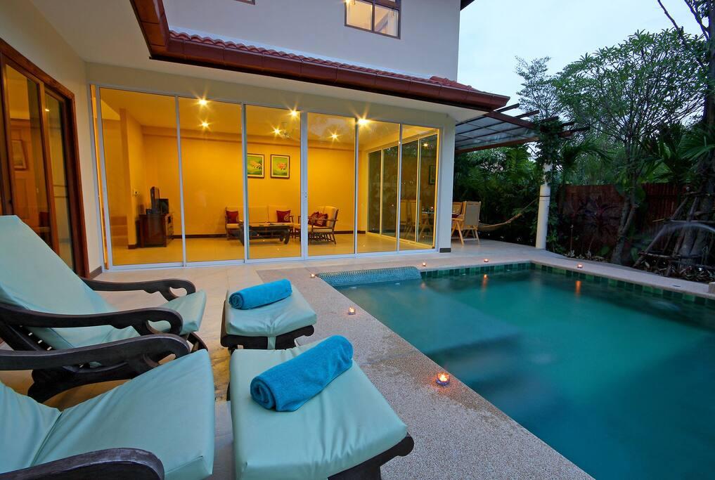 3 bedroom pool villa abf pattaya villas for rent in