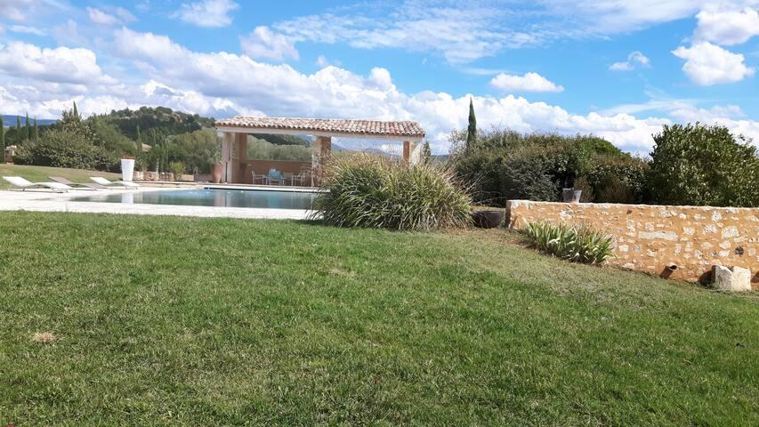 Petit Mas en pierres dans le Luberon avec piscine - Gargas - 獨棟