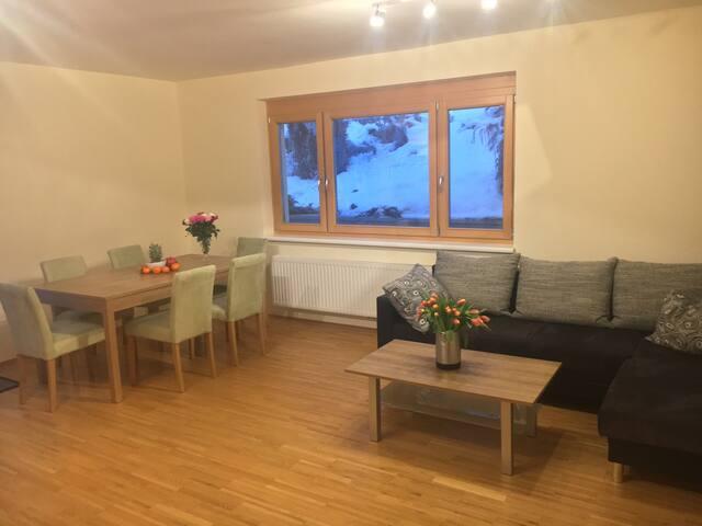 Neue Wohnung mit geschmackvoller Ausstattung - Fischbach - Apartemen