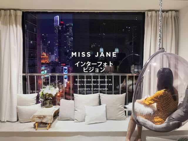 [MISS Jane限女生 Female Only] 近广州塔/正佳广场/天环/ 地铁体育西站