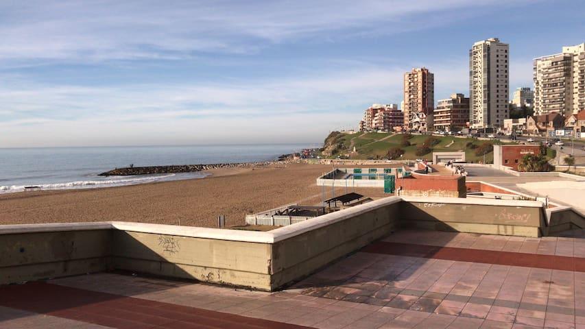 Apartamento completo a mts de la playa- 4 personas