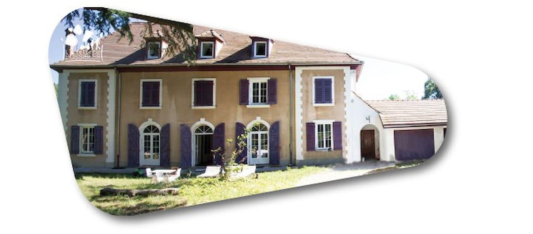chambres (grande maison bourgeoise) - Saint Blaise du Buis - บ้าน