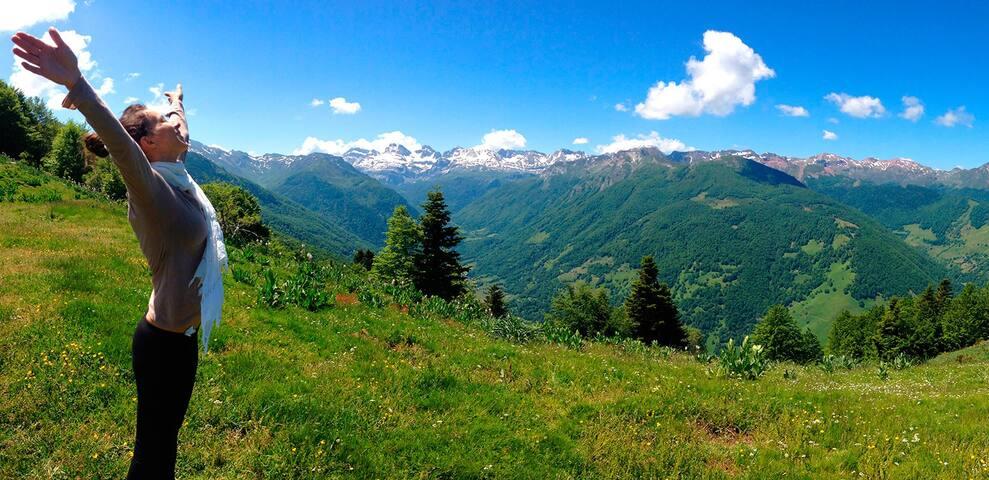 Site insolite en vallée d'Aspe. 75€ pour 2 pers