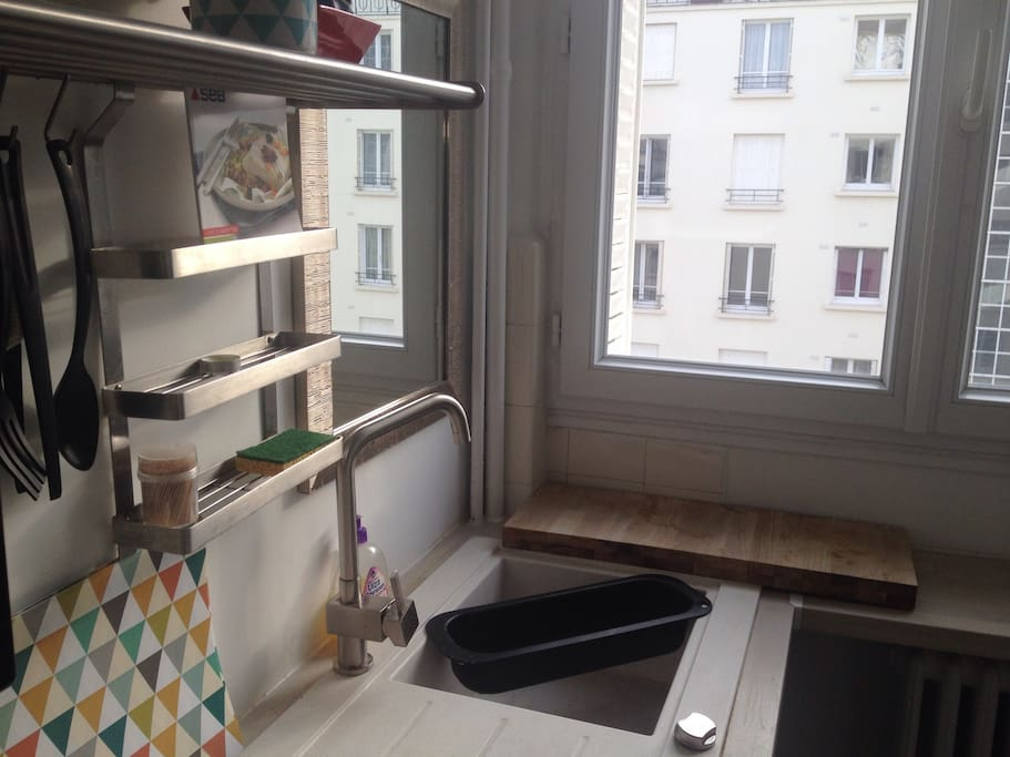 La cuisine moderne et equipee