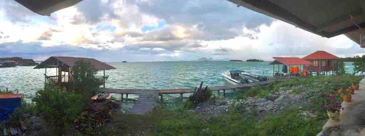 Kagong Cabin, Bum Bum Island, Semporna, Sabah