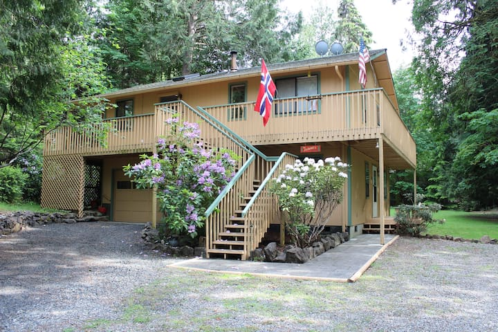 Puget Sound Island Home