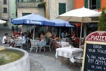 Relax with the locals in the little piazzas around the lake.