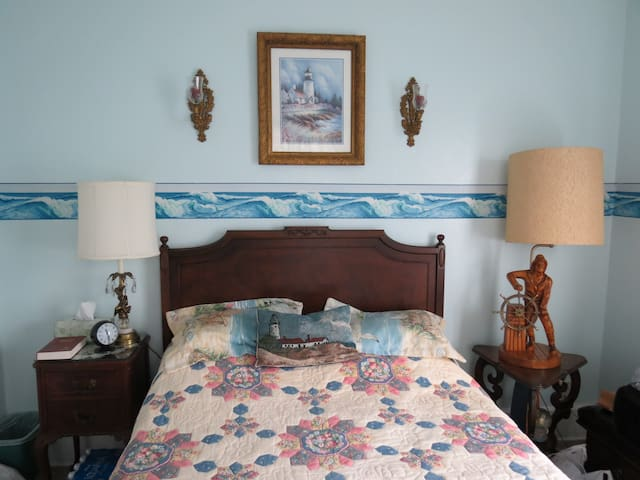 The Tappan House B&B Austin's Nautical Room - Mansfield - Bed & Breakfast