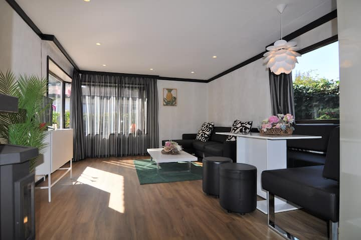 Luxe vakantiehuis Casa Oasis bosrijk Veluwe