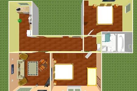 Apartman se 2 loznicemi - Bešeňová