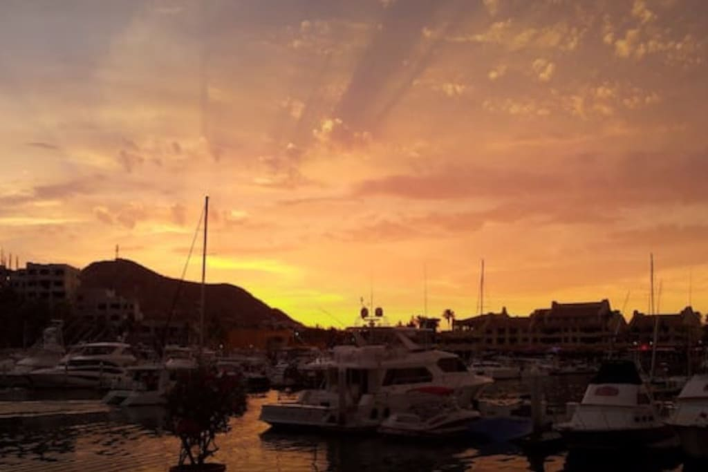 Sunsets and sunrises, Cabo style!