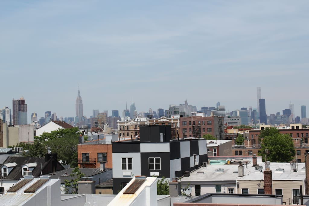 View from private roofdeck