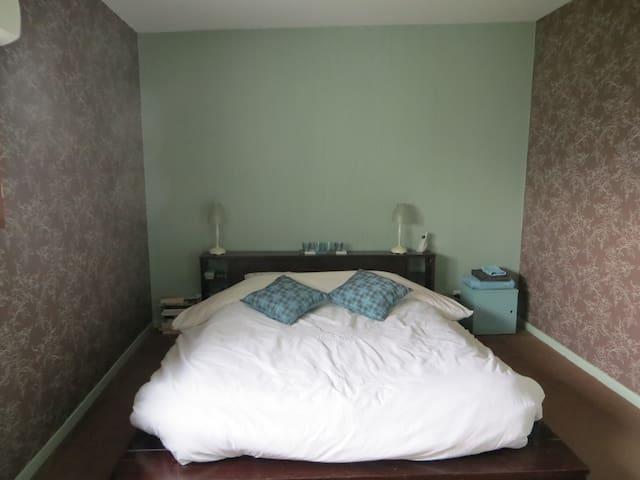 chambre privée pour deux personnes - Villeneuve-d'Ascq - Rumah