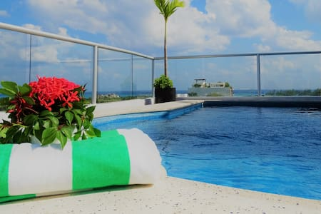 Mayan Penthouse with Rooftop Pool - Playa del Carmen - Apartment