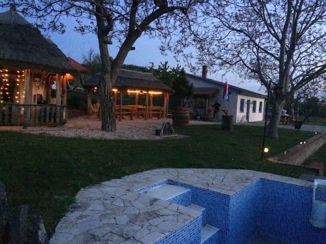 Gezellig zomerhuis op wijngaard!!