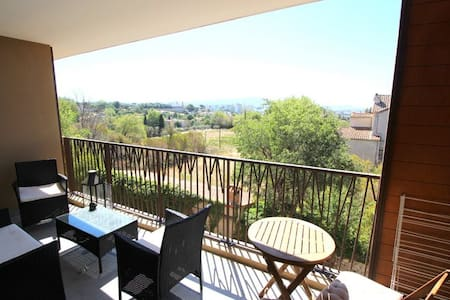 Joli studio 40m2 avec terrasse calme et agréable - Marsiglia