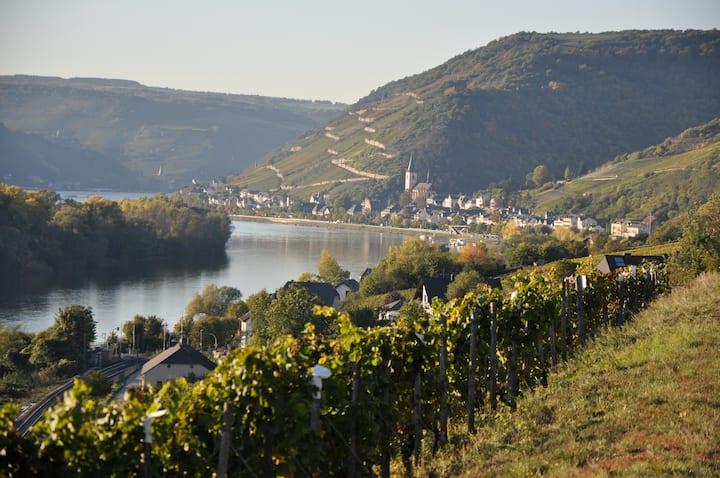Rhein und Weingenuss mit Blick auf Weltkulturerbe
