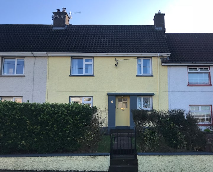 Family home, and all home comforts, in Dingle town