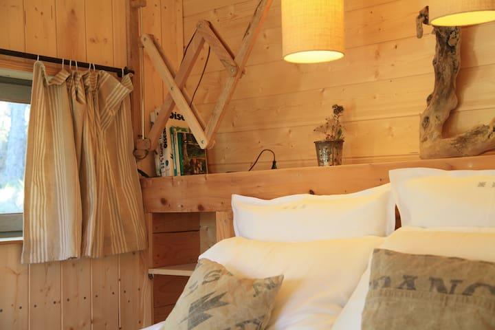 Persée cabane d'hôtes 4 saisons - Ribeyret - Guesthouse