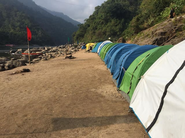 Travenjo Camping at Dawki Shnongpdeng