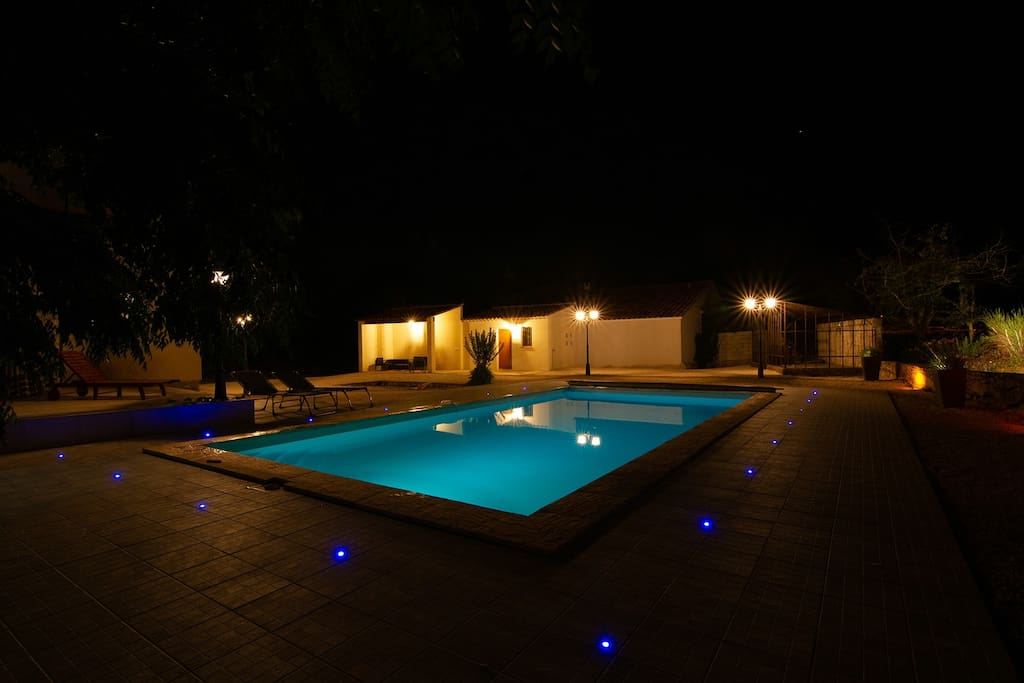 Pool night view - enjoy