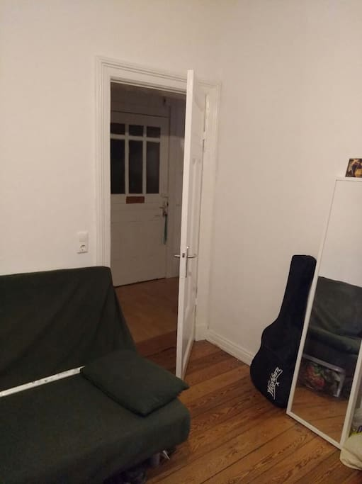 Room entrance (apartment entrance seen behind)