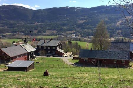 """Ankalterud Gårdshotell - """"Grønne rommet"""" - Nordre Land"""