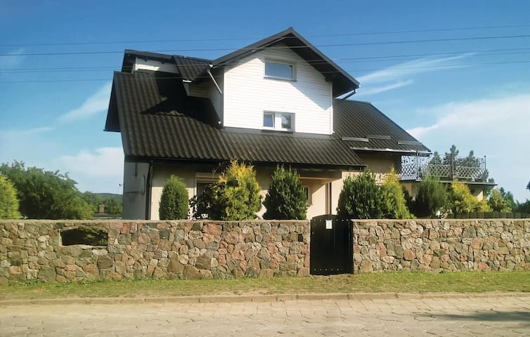 Holiday apartment with 5 bedrooms on 160 m² in Chmielno