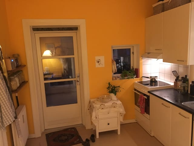 Warm and bright appartement