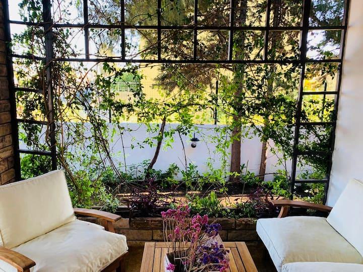 URLA Rustic Beachfront Villa with Spacious Garden