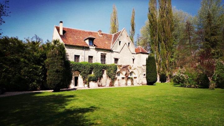Suite verte dans l'Oise près de Chantilly
